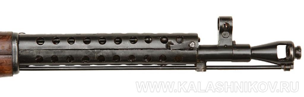 Дульная часть карабина СКС (СКС-31). Журнал Калашников