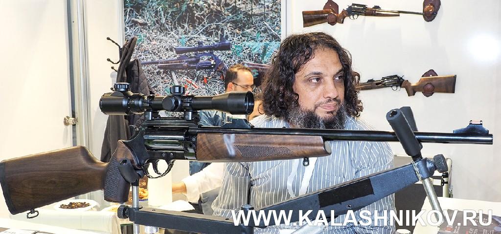 Револьверный карабин калибра .366 ТКМ. Журнал Калашников
