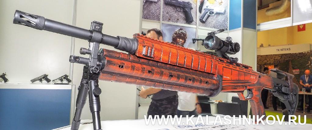турецкий эксперимент сроторным магазином большой вместимости. Журнал Калашников