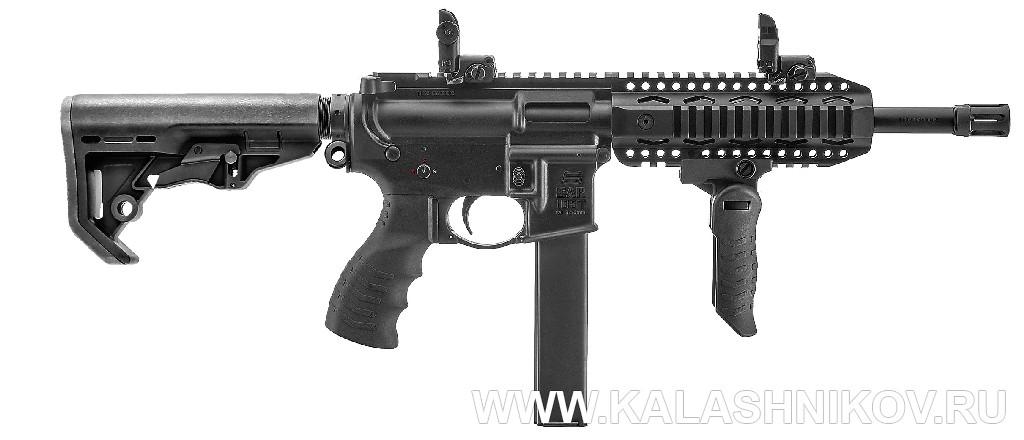 9-мм пистолет-пулемёт Sarsilmaz SAR 109. Фото журнала «Калашников»