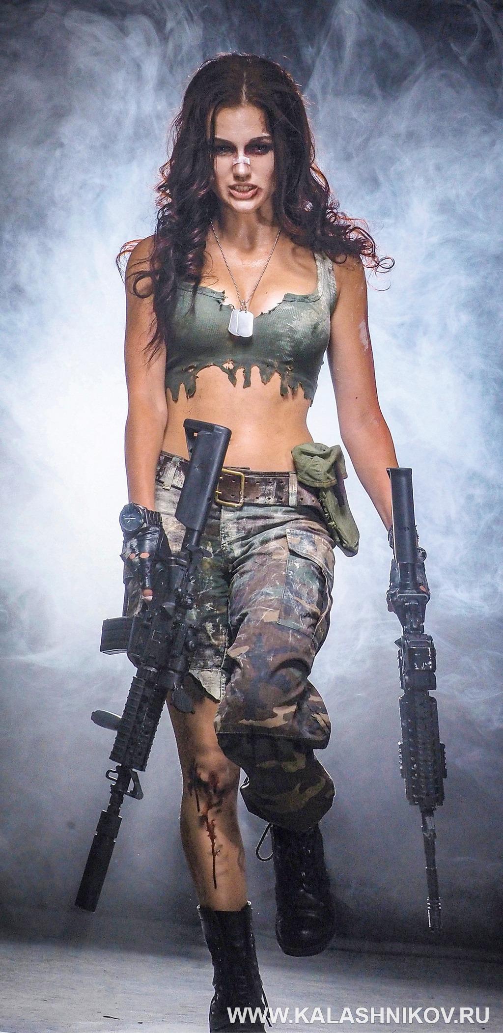 Женщина с оружием, ProHunt 2018. Журнал Калашников
