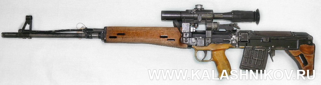 Винтовка ТКБ-0145С в боевом положении. Журнал Калашников