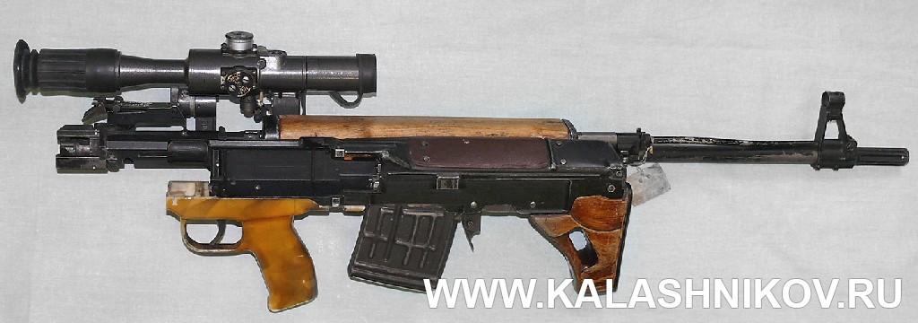 Винтовка ТКБ-0145С в походном положении 2. Журнал Калашников