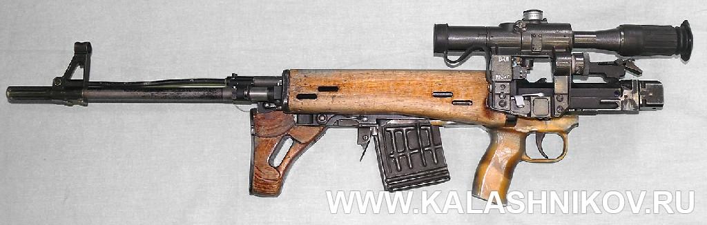 Винтовка ТКБ-0145С в походном положении 1. Журнал Калашников