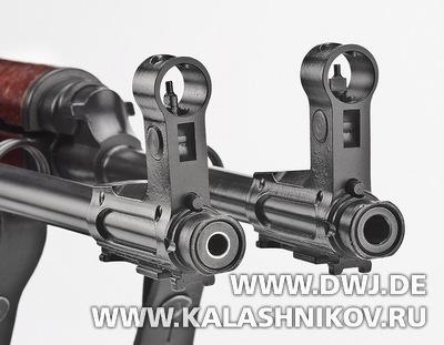 Дульные части штурмовой винтовки CSAvz.58 разных калибров. DWJ, Журнал Калашников