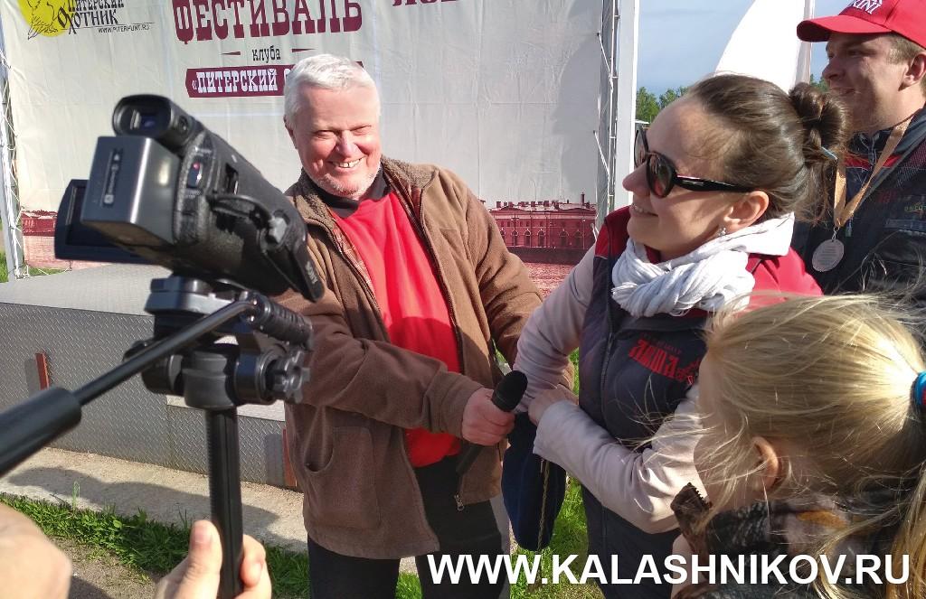 Лотерея на стрелковом фестивале Левши. Журнал Калашников