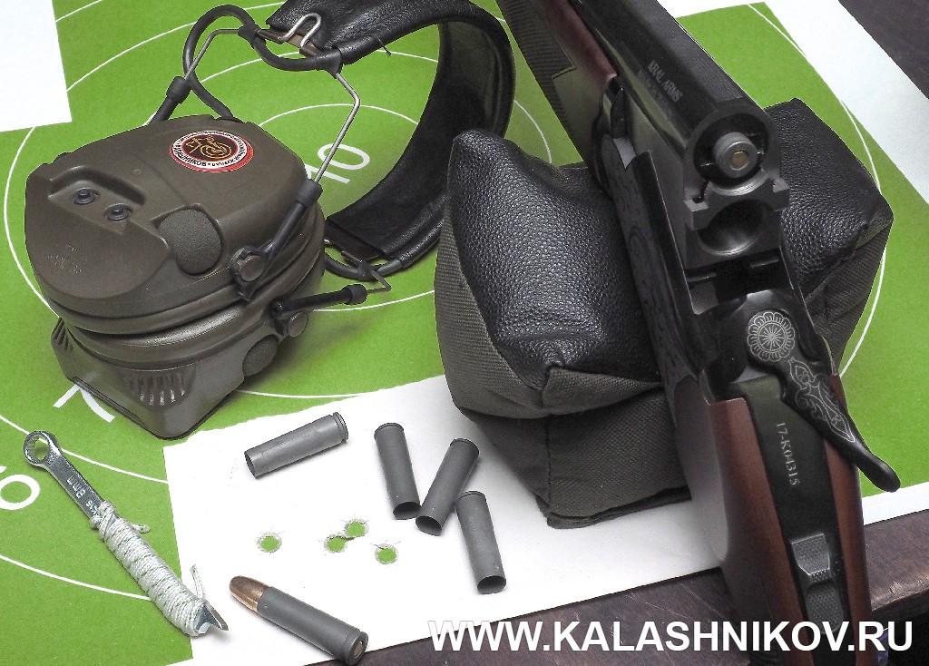 Ствол ТК 600 в вертикалке Kral M27. Журнал Калашников