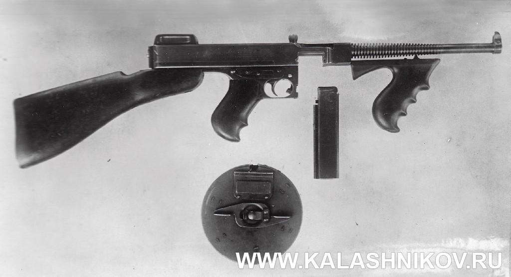 пистолет-пулемёт Томпсона обр. 1921 г.. Журнал Калашников