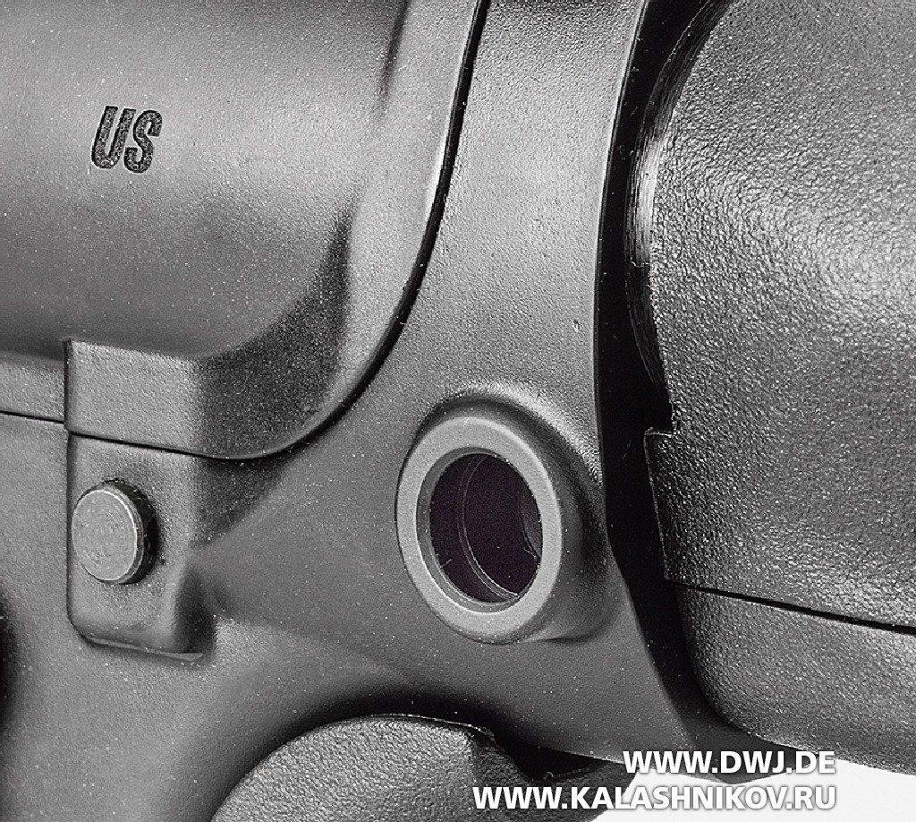 Винтовка SIG 716 DMR. Втулки для ремня