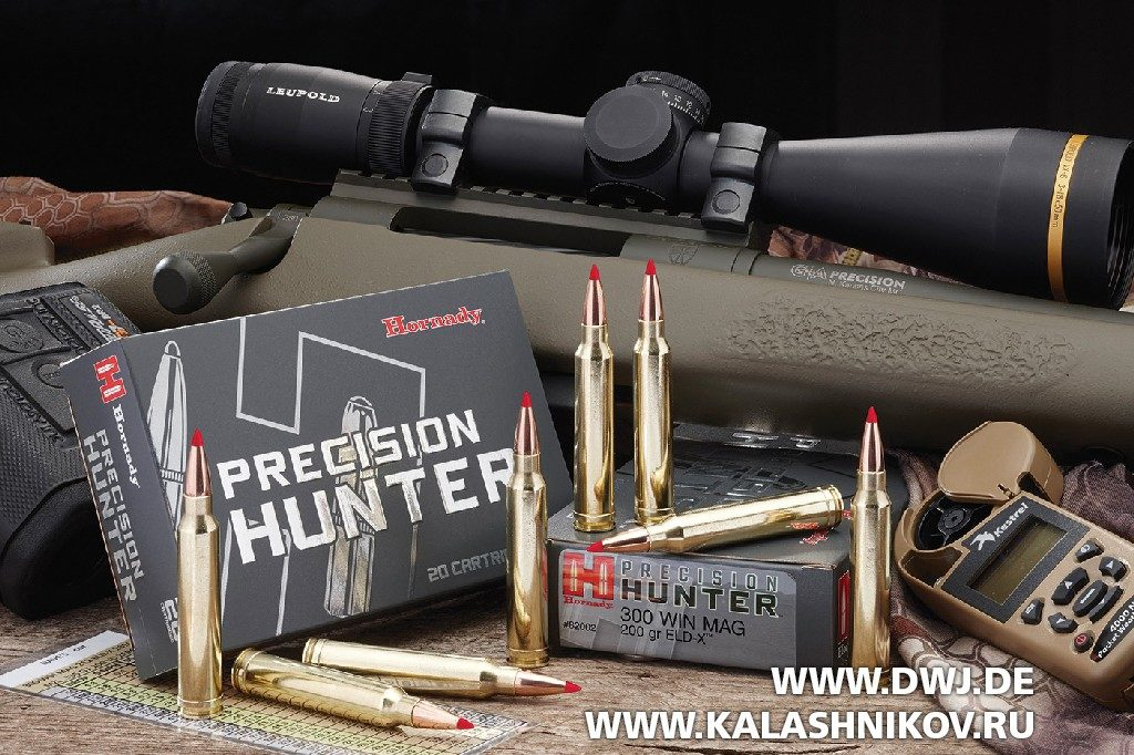 Патроны Hornady Precision Hunter