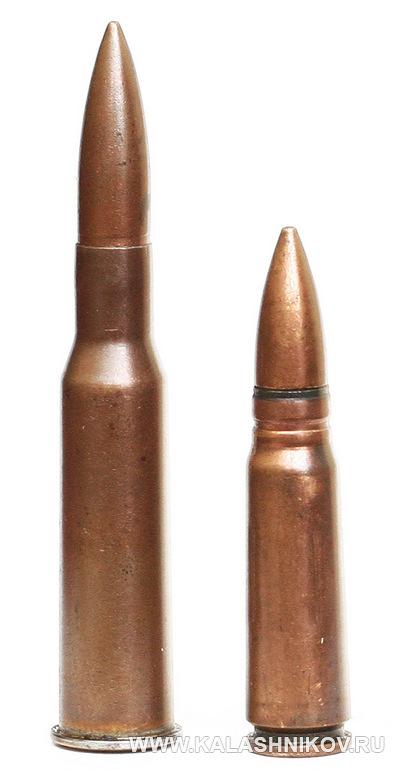 7,62-мм патрон обр.1943 г. Журнал Калашников
