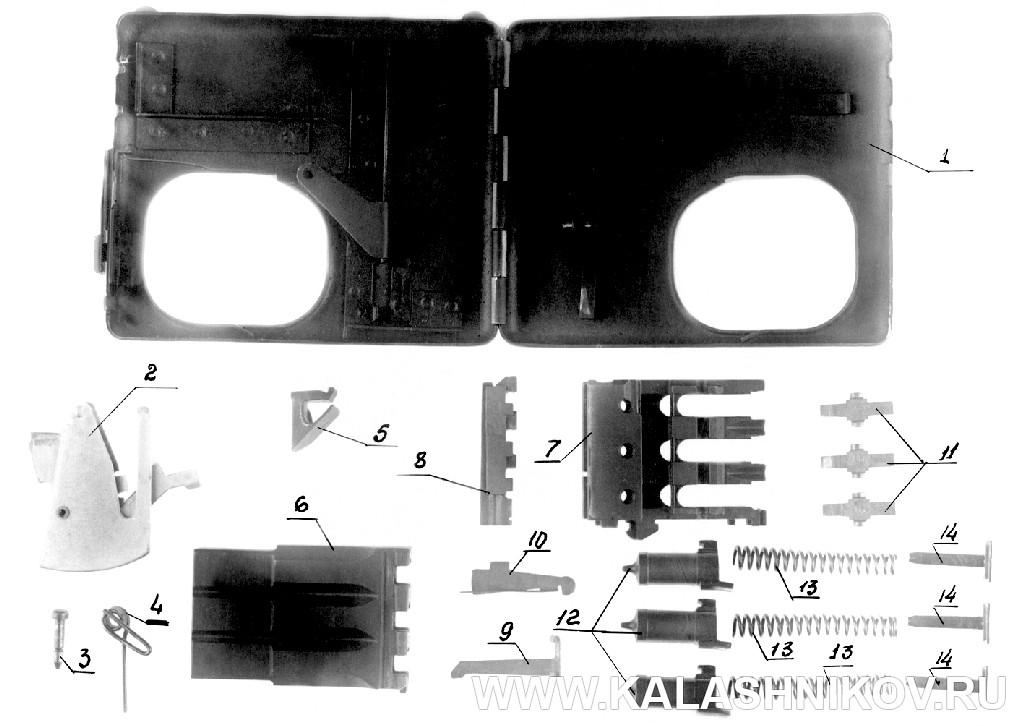 Полная разборка пистолета-портсигара ТКБ-506 И.Я. Стечкина. Журнал Калашников