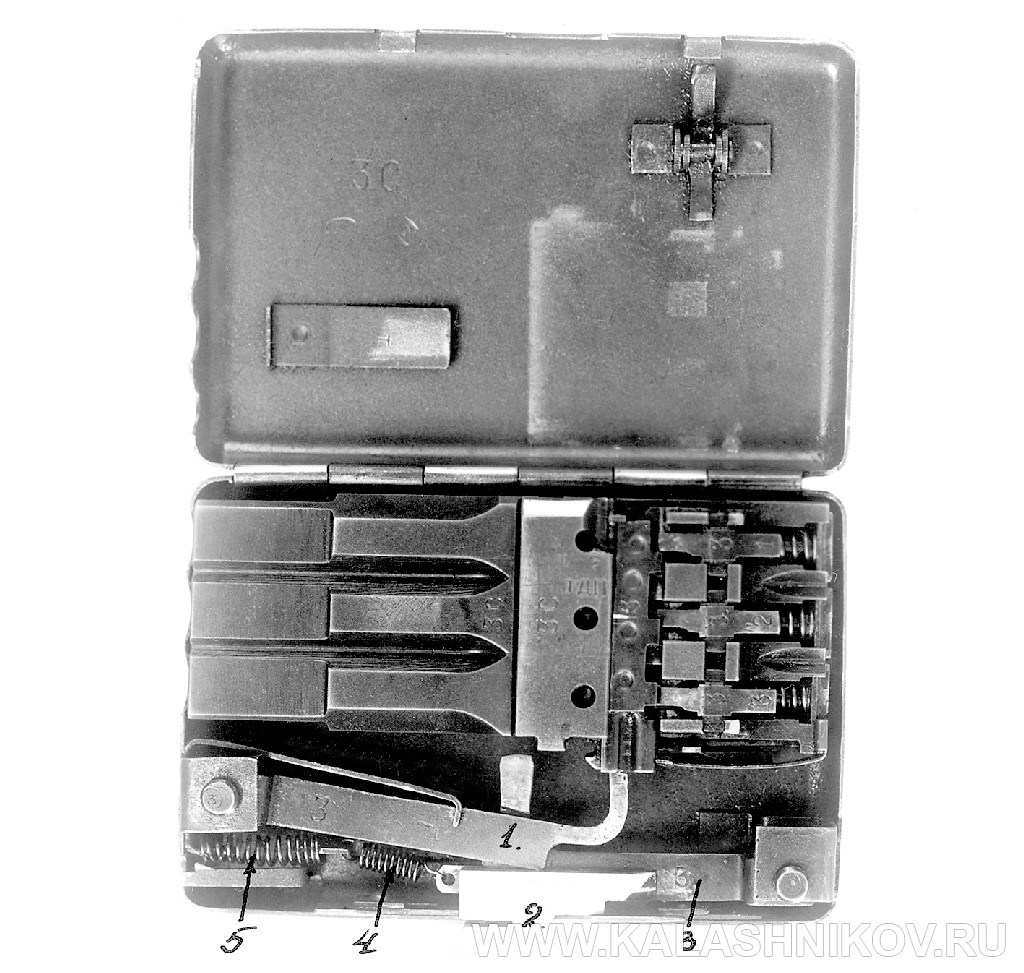 Пистолет-портсигар ТКБ-506А И.Я. Стечкина. Журнал Калашников