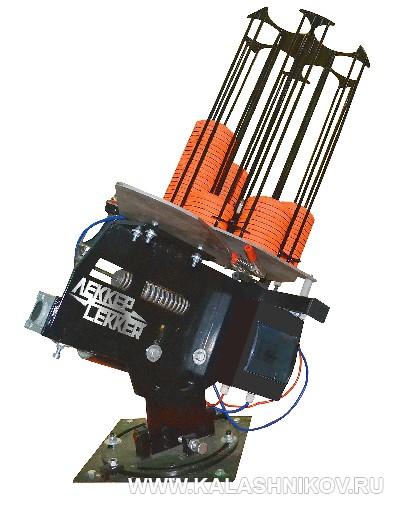 Метательная машинка «Сокол» фирмы Lekker. Журнал Калашников