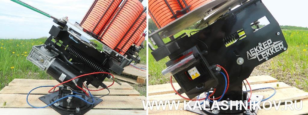 Общие виды метательной машинки «Сокол» фирмы Lekker. Журнал Калашников
