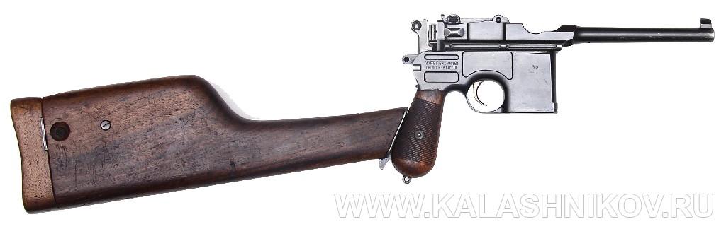 7,63-мм самозарядный пистолет системы Маузера, модель 1896 г. (Mauser C96). Журнал Калашников