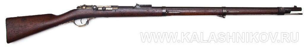 11-мм пехотная винтовка системы Маузера обр. 1871 г.. Журнал Калашников