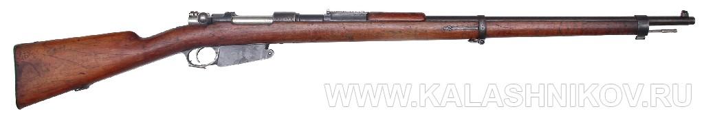 7,65-мм магазинная пехотная винтовка системы Маузера обр. 1890 г. Журнал Калашников