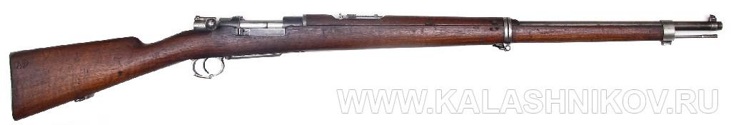 7–мм магазинная пехотная винтовка системы Маузера обр. 1893 г. (Model 1893). Журнал Калашников
