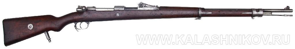 7,92-мм магазинная пехотная винтовка системы Маузера обр. 1898 г.. Журнал Калашников