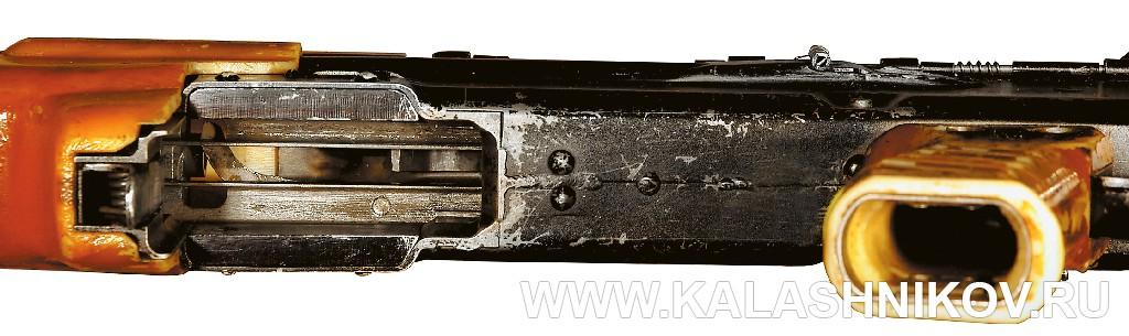 Приемное окно ствольной коробки автомата И. Я. Стечкина ТКБ-0146, «Абакан». Журнал Калашников