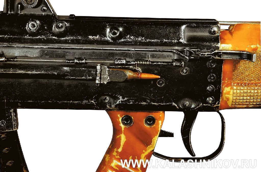 Удаление стреляной гильзы автомата И. Я. Стечкина ТКБ-0146, «Абакан». Журнал Калашников