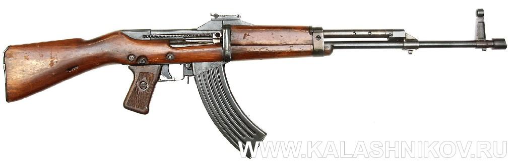 Автомат Кубынова 1-й вариант КБ-2. Журнал Калашников
