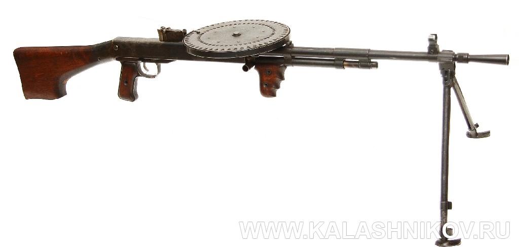 Автомат Дегтярева КБ-П-315. Журнал Калашников