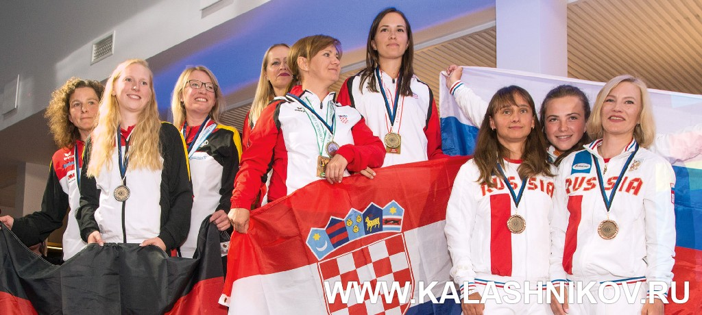 Женская команда — бронзовый призёр Чемпионата Европы. Журнал Калашников
