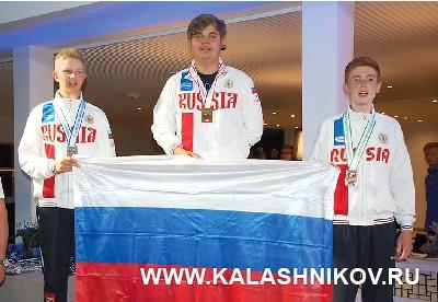 Семён Шабурин, Михаил Мирзоев, Илья Сергеев. Журнал Калашников