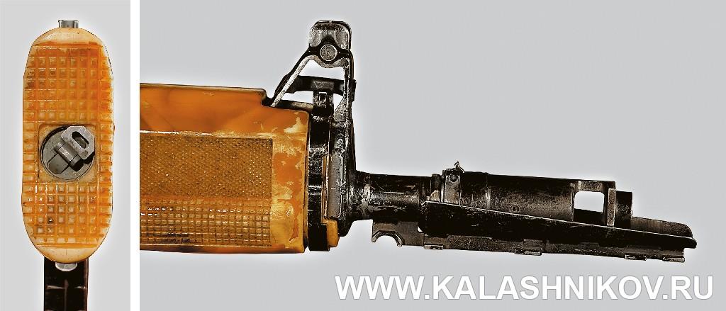 Винт приклада и передняя часть автомата И. Я. Стечкина ТКБ-0146, «Абакан». Журнал Калашников