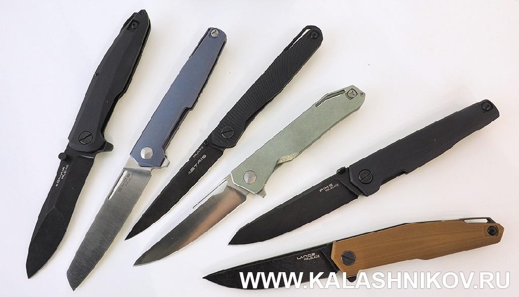 Ножи Mr. Blade на выставке IWA 2018. Журнал Калашников
