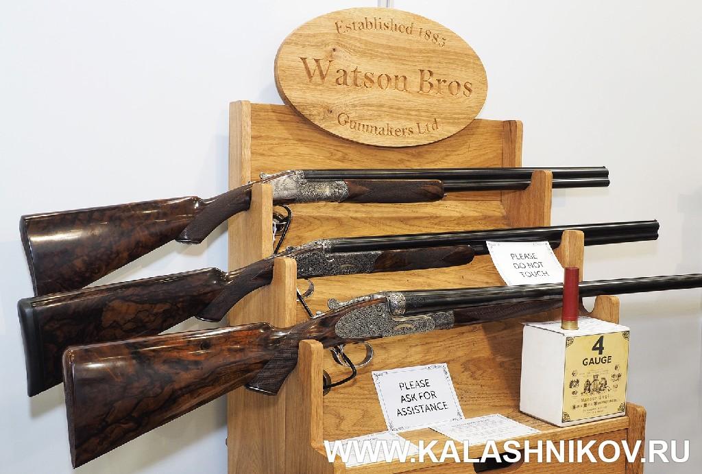 Ружейная классика от Watson Bros на выставке IWA 2018. Журнал Калашников