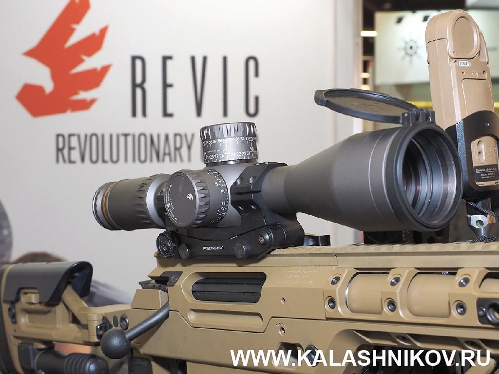 Оптический прицел Revic PMR 428 на выставке IWA 2018. Журнал Калашников
