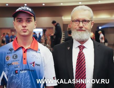 Виталий Крючин и Кирилл Семёнов. Журнал Калашников