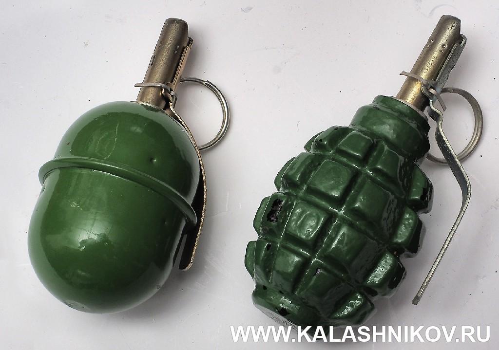 РГД-5 и Ф-1. Журнал Калашников