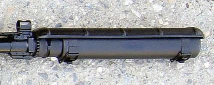 ПМС винтовки СВ-98 старого образца сприсоединённым противомиражным экраном