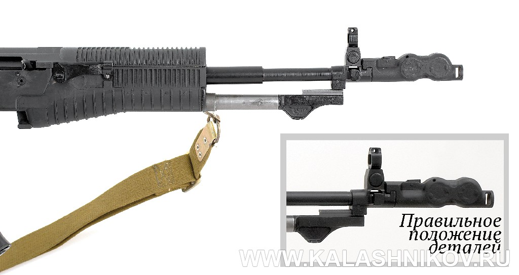 Правильное присоединение стреляющего агрегата АН-94 Абакан. Журнал Калашников