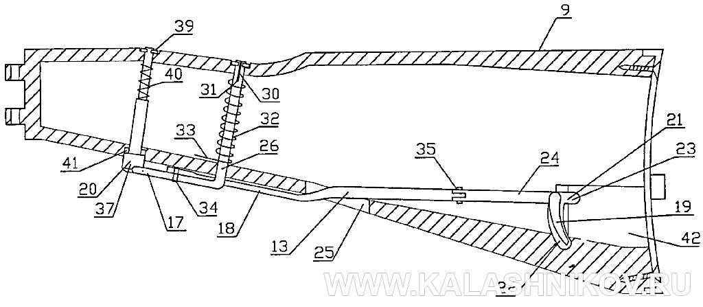 Приклад АК74МБ. Журнал Калашников