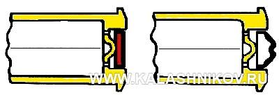 Капсюль до и после выстрела из винтовки Токарева с капсюльным двигателем. Журнал Калашников