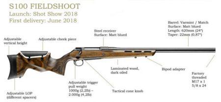 sauer 100, охотничий карабин, журнал калашников
