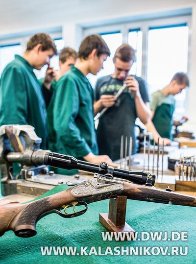 Штуцер учеников оружейно-технического училища Ferlach. Журнал Калашников, DWJ.