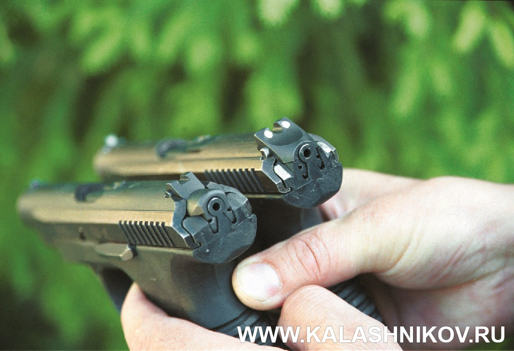 Целик пистолета ГШ-18. Журнал Калашников