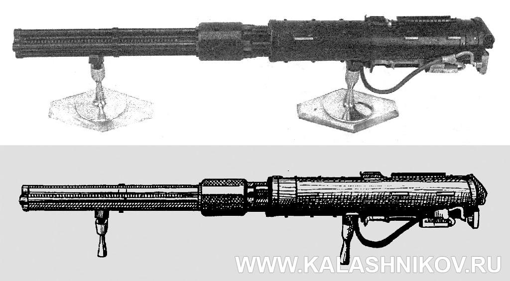 Пулемет ЯкБ-12,7 из книги Б.Г. Трубникова. Журнал Калашников