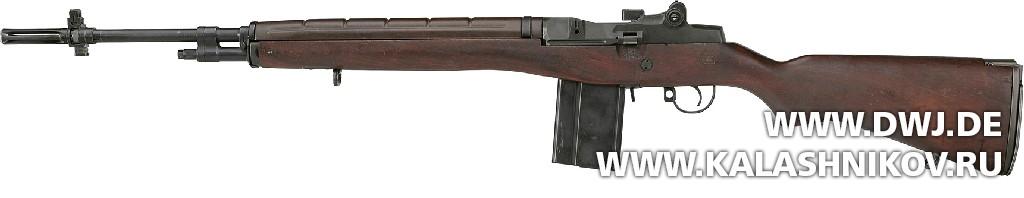 Американская винтовка М14 . Журнал Калашников. DWJ