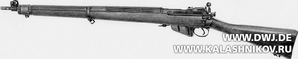 Винтовка Enfield Rifle No.4MarkI. Журнал Калашников. DWJ