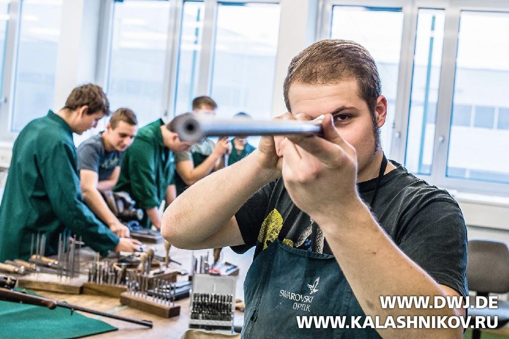 Обучение в оружейно-техническом училище Ferlach. Журнал Калашников, DWJ.