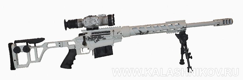 Винтовка «Лобаев» ТСВЛ-8М3. Журнал Калашников. Армия 2018, Army 2018