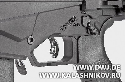 Предохранитель винтовки Ruger RPR. Журнал Калашников