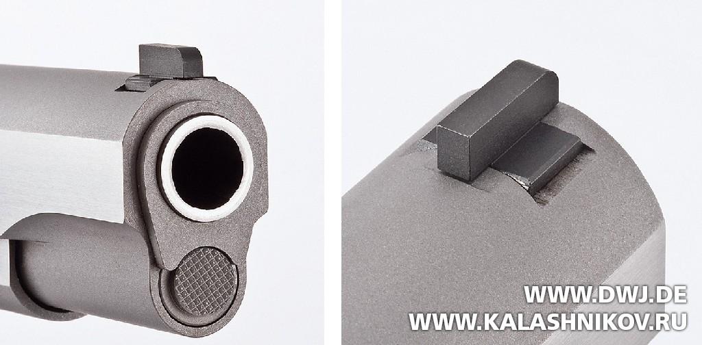 Colt 1911 мушка и ствольная направляющая втулка. Журнал Калашников